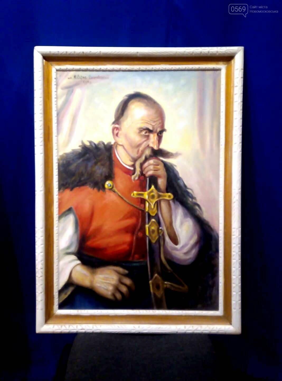 У Новомосковському історичному музеї презентували виставку картин Миколи Сарми-Соколовського , фото-1