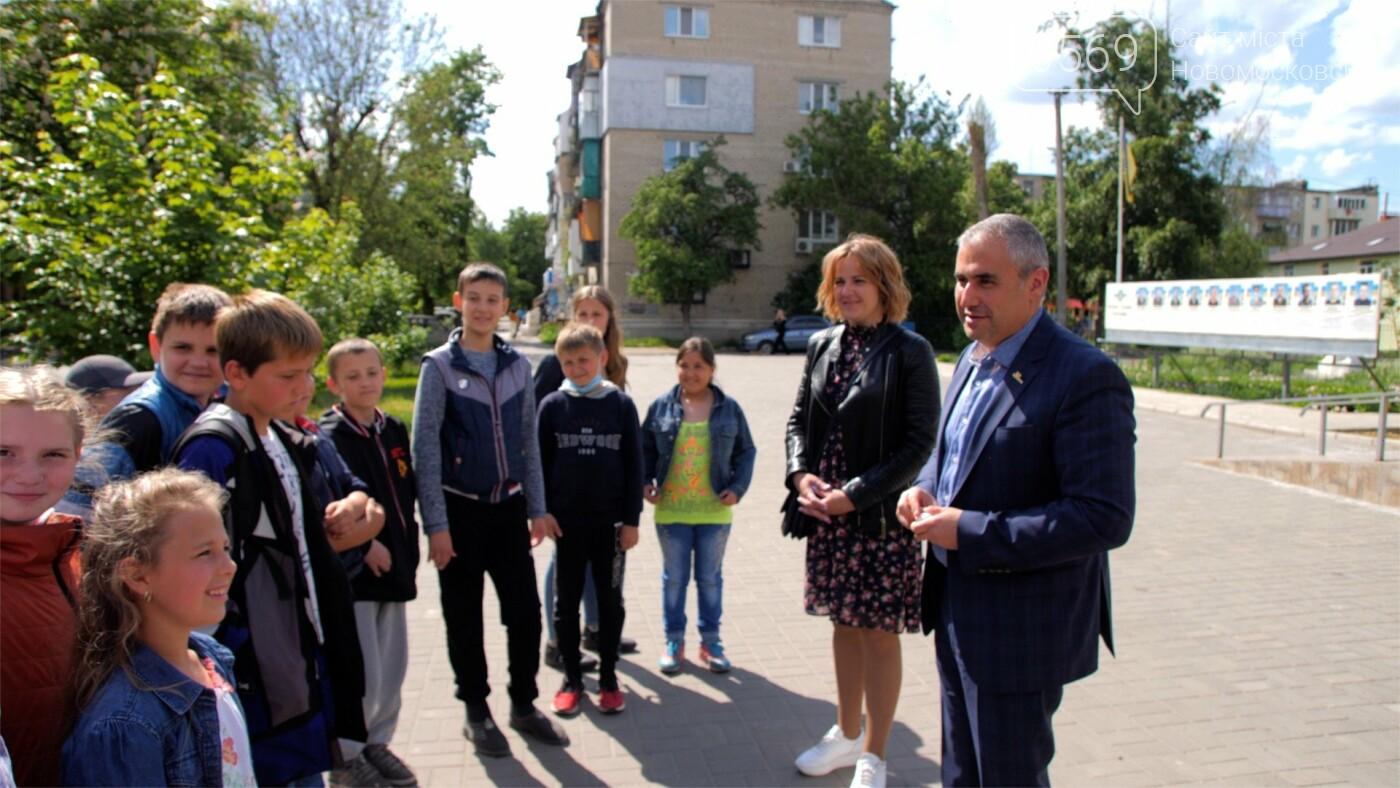 Школярі мікрорайону Кулебівка у Новомосковську за «дяки» отримали майстер-клас з виготовлення бургерів, фото-2