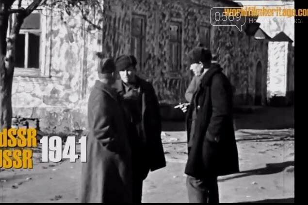 """У соцмережах з""""явився унікальний архівний фільм про вхід нацистів у Новомосковськ: ВІДЕО, фото-6"""