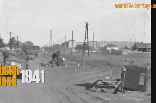 """У соцмережах з""""явився унікальний архівний фільм про вхід нацистів у Новомосковськ: ВІДЕО, фото-14"""