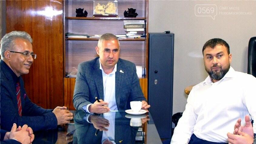 Новомосковськ відвідала делегація представників групи інженерно-будівельних компаній Туреччини, фото-1