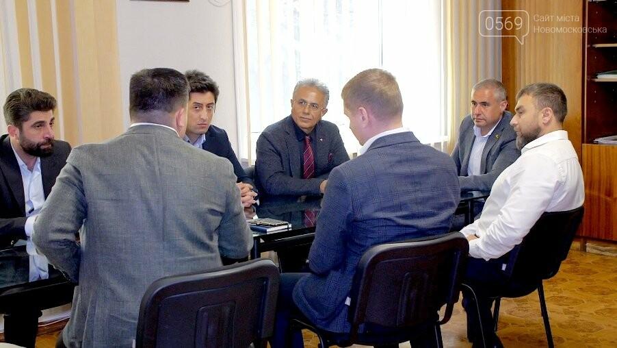 Новомосковськ відвідала делегація представників групи інженерно-будівельних компаній Туреччини, фото-2