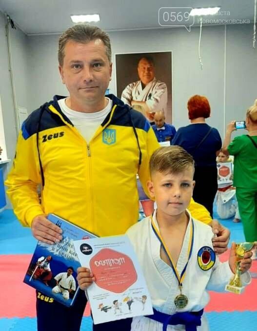 Каратист СК «IRINA» з Новомосковщини здобув блискучу перемогу на міжклубному турнірі, фото-3