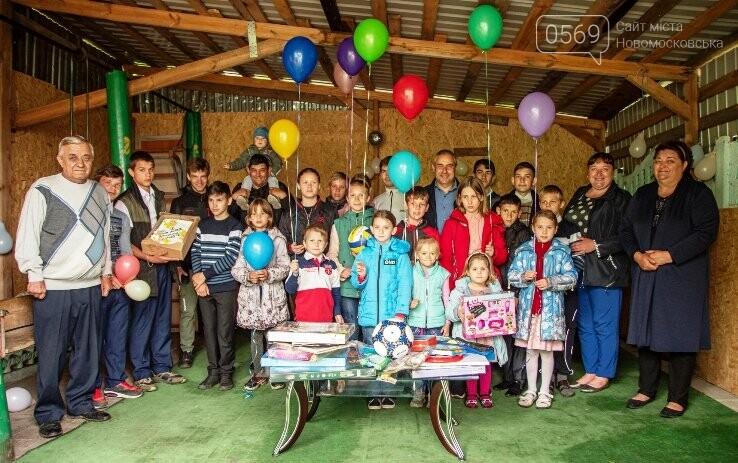Міський голова Новомосковська привітав дітей двох дитячих будинків сімейного типу, фото-3