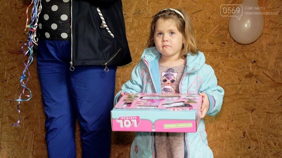 Міський голова Новомосковська привітав дітей двох дитячих будинків сімейного типу, фото-8