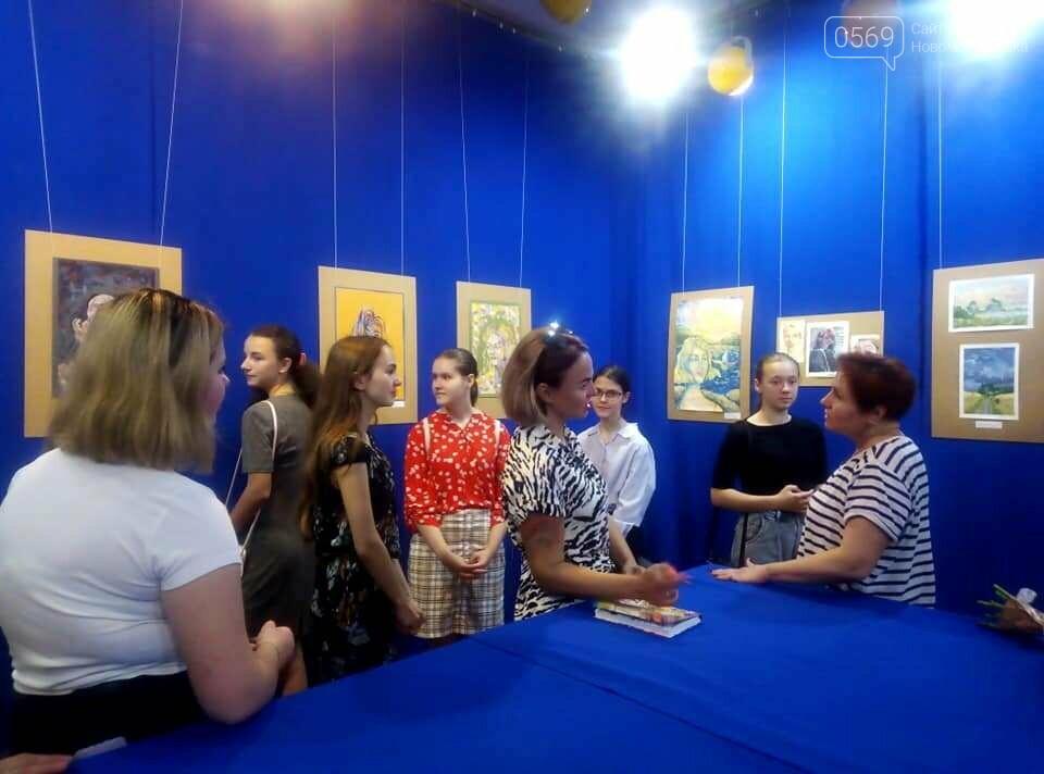 У Новомосковському музеї відкрили персональну художню виставку , фото-16