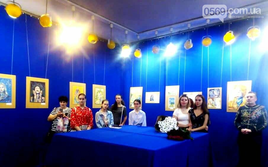 У Новомосковському музеї відкрили персональну художню виставку , фото-13
