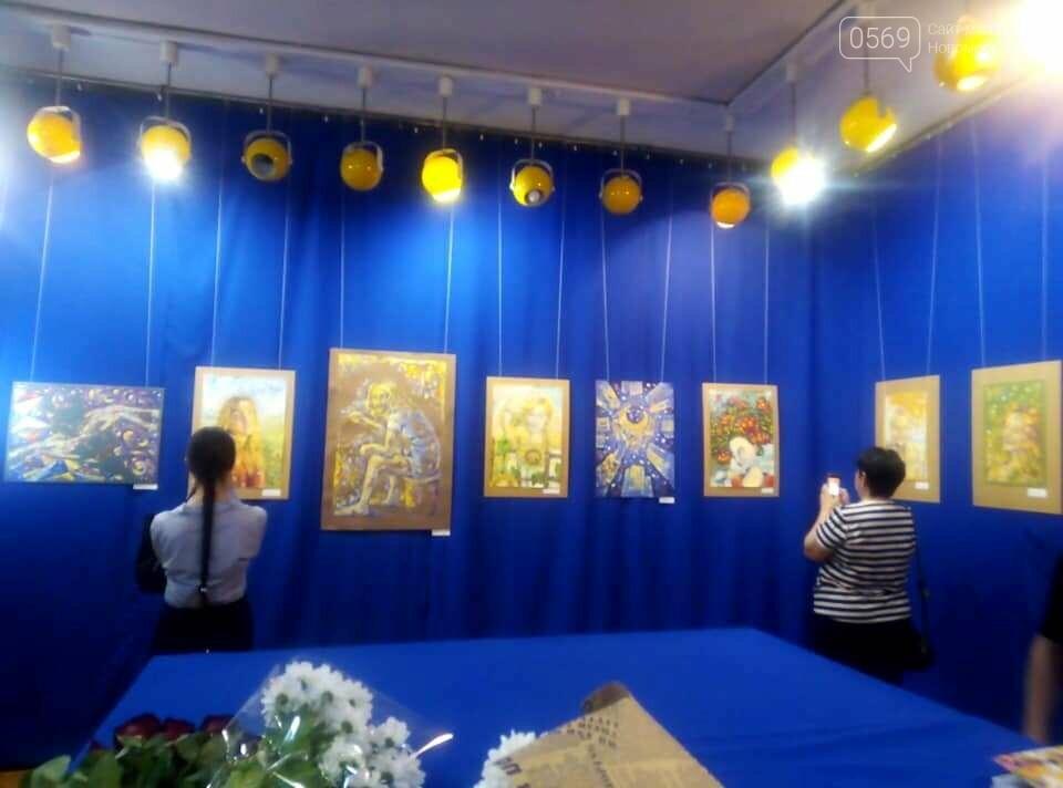 У Новомосковському музеї відкрили персональну художню виставку , фото-9