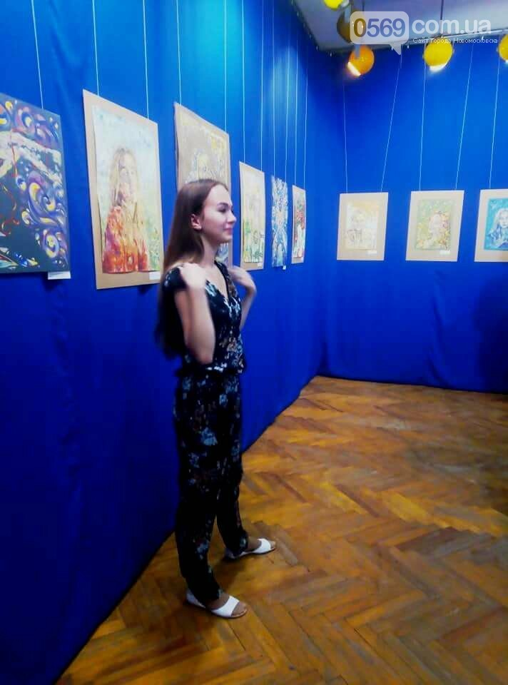 У Новомосковському музеї відкрили персональну художню виставку , фото-3