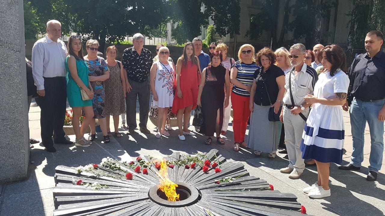 На Днепропетровщине команда Александра Вилкула почтила память павших в Великой Отечественной войне, фото-4