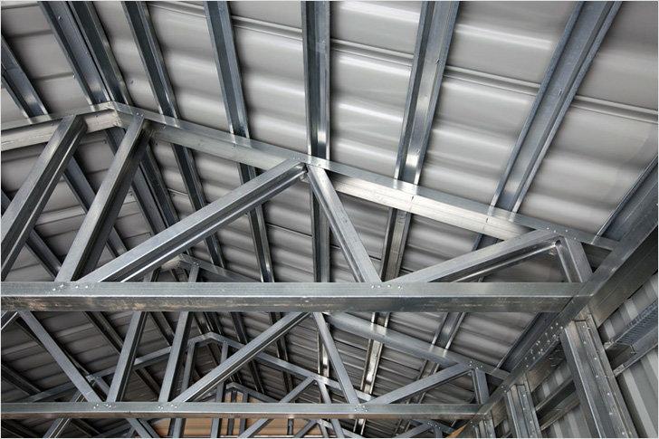 Как выглядит стальная конструкция крыши?, фото-1