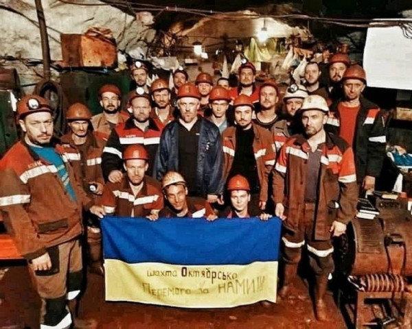 Проходчик шахты КЖРК Александр Потапенко: «За все 43 дня забастовки, из высоких чиновников к нам по-человечески отнесся только Юрий Григорь..., фото-1